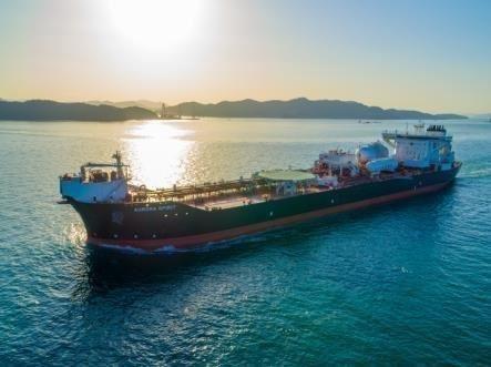 Hyundai Heavy Industries LNG ship / Courtesy of Hyundai Heavy Industries