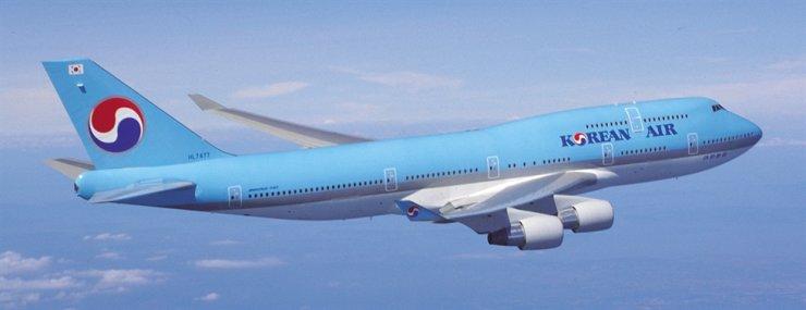Korean Air's Boeing 747-400 plane / Korea Times file
