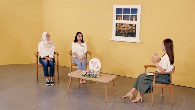 A scene from the episode introducing Brunei in the ASEAN-Korea Centre's 2021 ASEAN virtual familiarization tour series / Courtesy of the ASEAN-Korea Centre