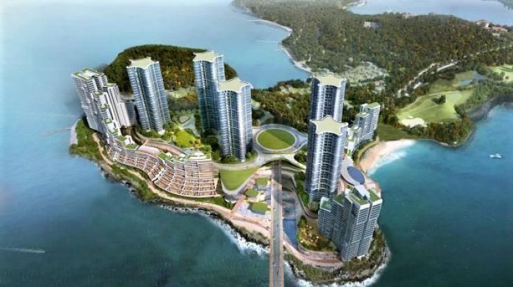 A rendering of Yeosu Gyeongdo Maritime Tourism Complex / Korea Times file