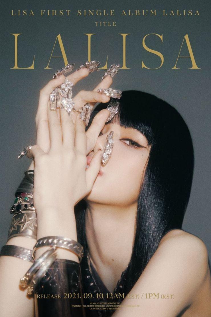 Teaser image for Lisa's 'LALISA' / Courtesy of YG Entertainment