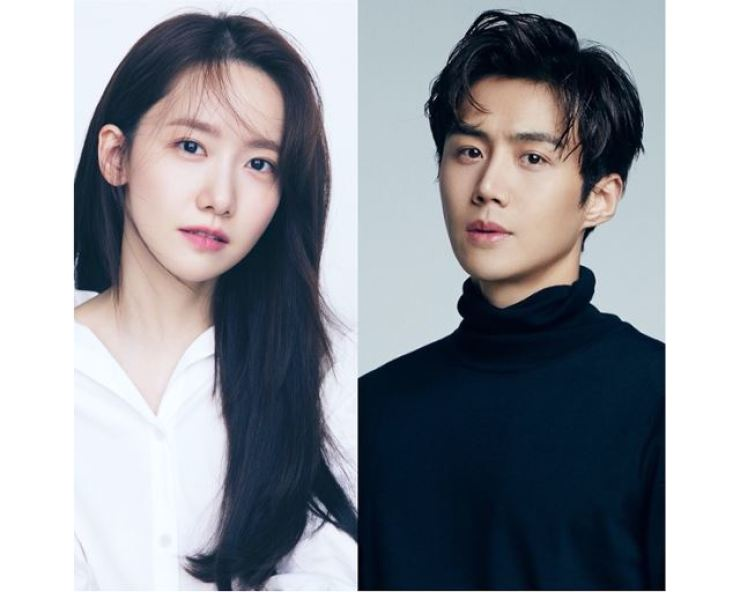Actors Lim Yoon-a, left, and Kim Seon-ho will co-lead in the new romantic comedy film 'Two O'Clock Date