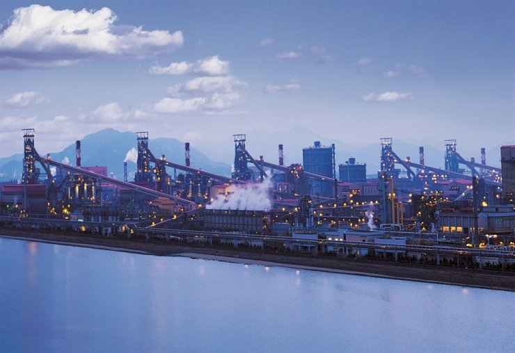 POSCO's Gwangyang steel plant in South Jeolla Province / Courtesy of POSCO