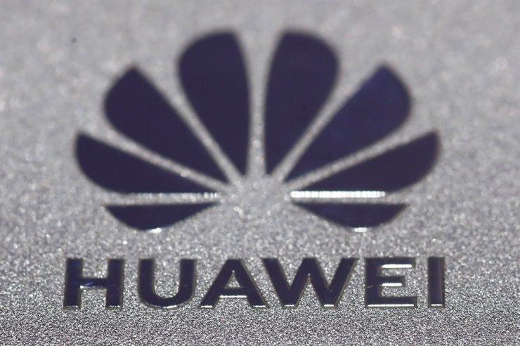 Huawei logo is seen during Munich Auto Show, IAA Mobility 2021 in Munich, Germany, Sept. 8. Reuters-Yonhap