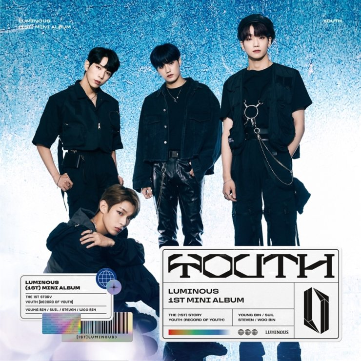 K-pop boy group LUMINOUS / Courtesy of Barunson WIP