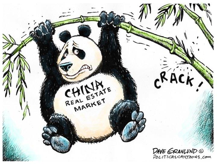 China real estate market cracking