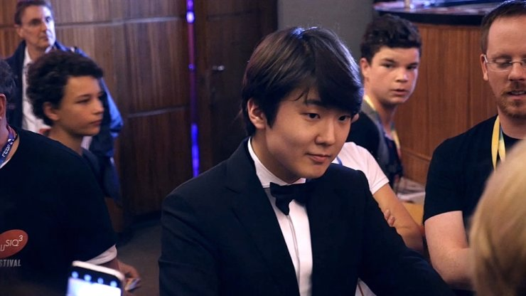 Pianist Cho Seong-jin, who won the Chopin competition in 2015, is seen in the film 'K-Classics Generation' directed by Thierry Loreau. / Courtesy of K-Classics Generation