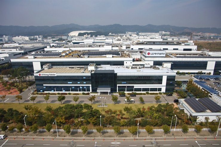 LG Energy Solution's (LGES) Ochang plant in North Chungcheong Province. Courtesy of LGES