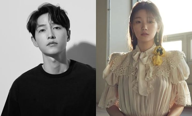 Song Joong-ki and Park So-dam / Korea Times file