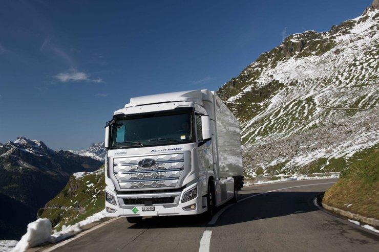 Hyundai Motor fuel cell truck XCIENT / Courtesy of Hyundai Motor