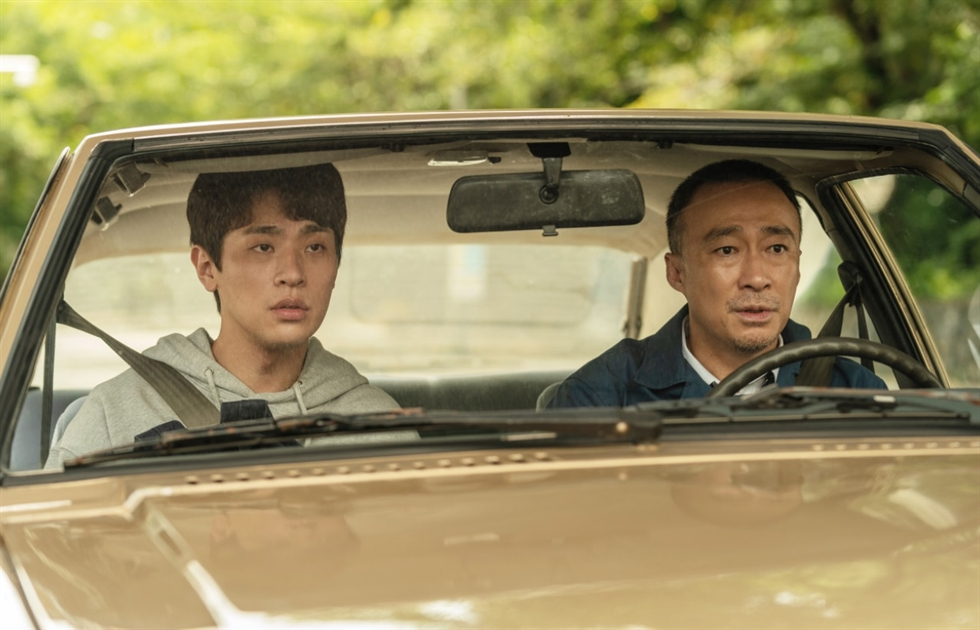 The crime action movie, 'On the Line,' has topped the local box office for nine consecutive days. Courtesy of CJ ENM