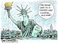 New York City flooding 2021