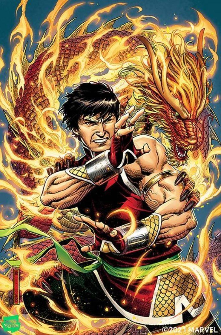 Shang-Chi, Marvel's first Asian superhero / Courtesy of Naver Webtoon