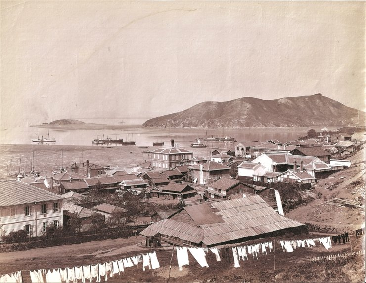Jemulpo in the late 1880s-1890s / Robert Neff Collection