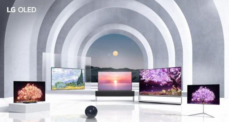 LG Electronics' OLED TV lineup / Courtesy of LG Electronics