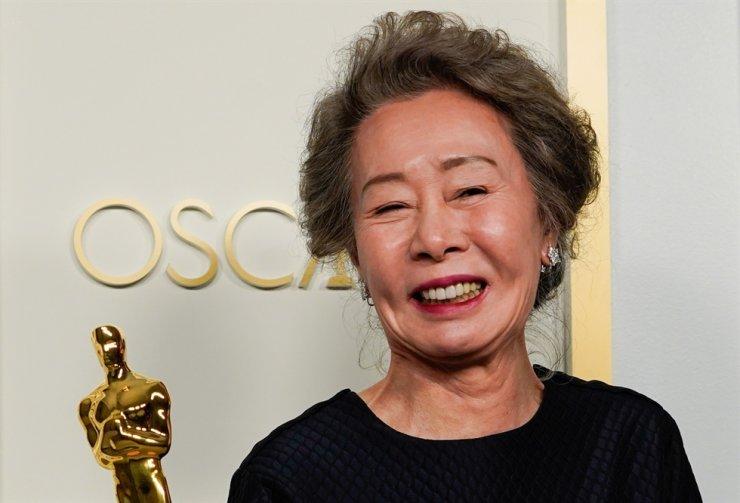 Actress Youn Yuh-jung / Reuters-Yonhap