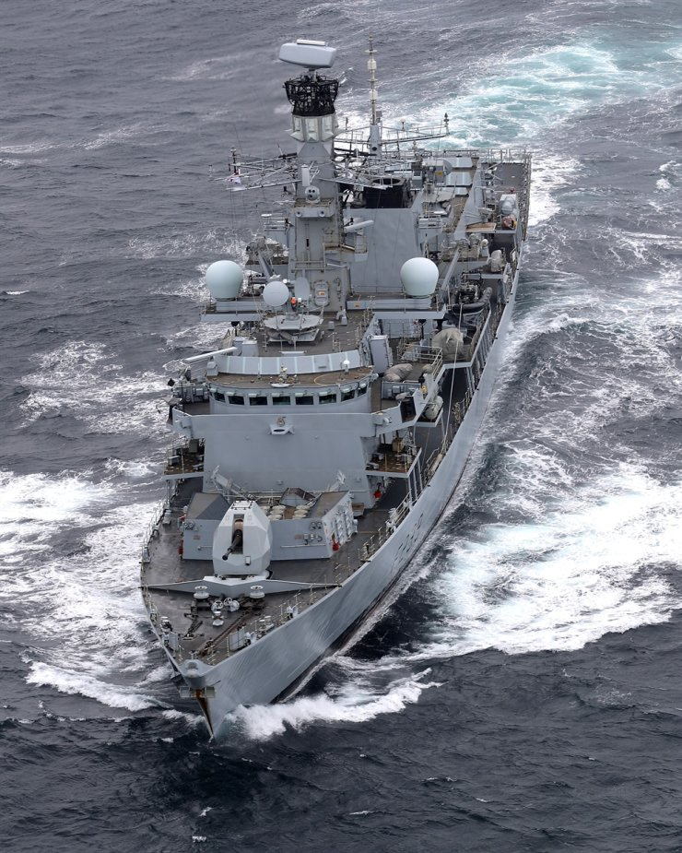 British Royal Navy's HMS Richmond / Reuters-Yonhap
