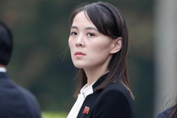 North Korean leader Kim Jong-un's sister Kim Yo-jong / Yonhap
