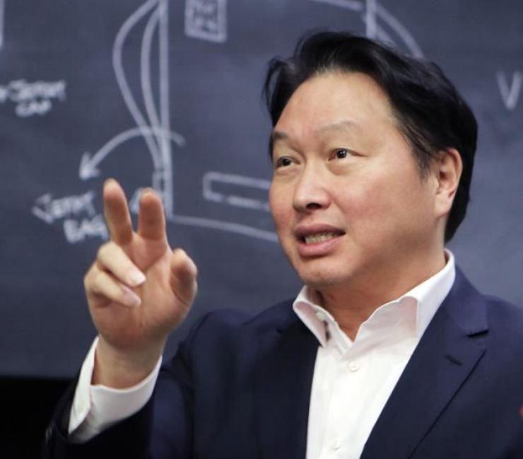 SK Group Chairman Chey Tae-won / Courtesy of SK Group