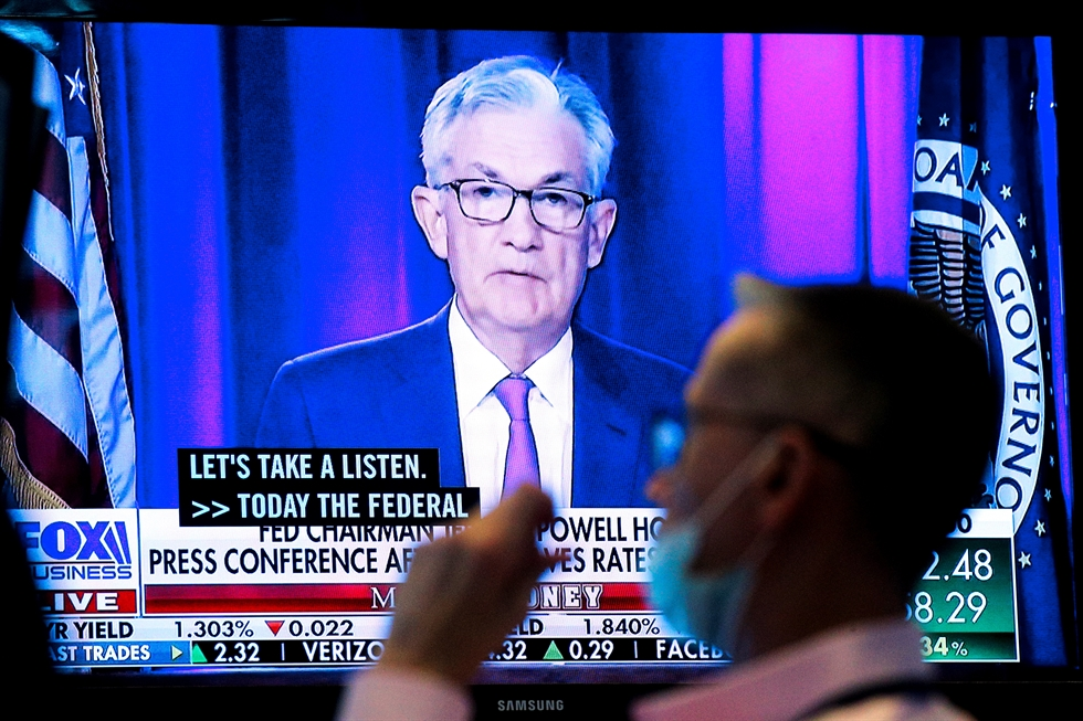 Federal Reserve Board Chairman Jerome Powell / AFP-Yonhap
