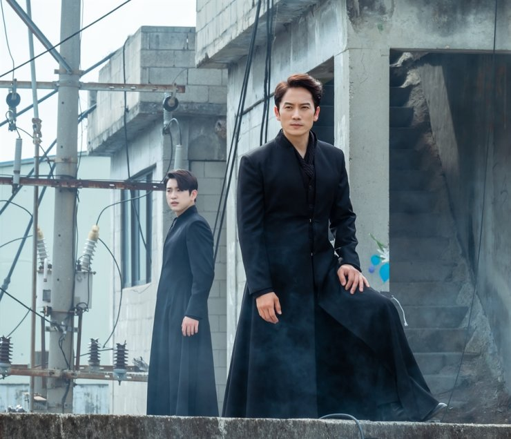 TvN series 'The Devil Judge,' starring Ji Sung and Jin Young, ended last month. Courtesy of tvN