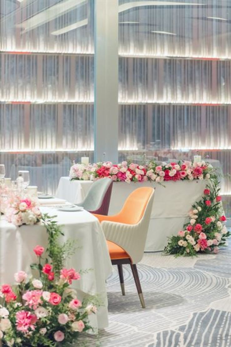 The Fairmont Ambassador Seoul offers two small and luxury wedding packages available until the end of the year. Courtesy of Fairmont Ambassador Seoul