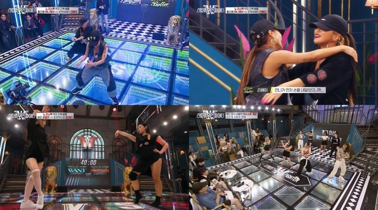 Scenes from Mnet's new dance competition program, 'Street Woman Fighter' / Courtesy of Mnet