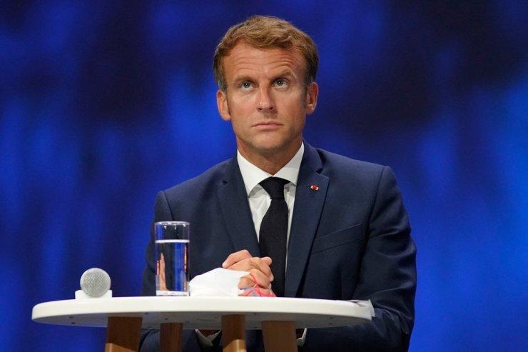 French President Emmanuel Macron / AFP-Yonhap