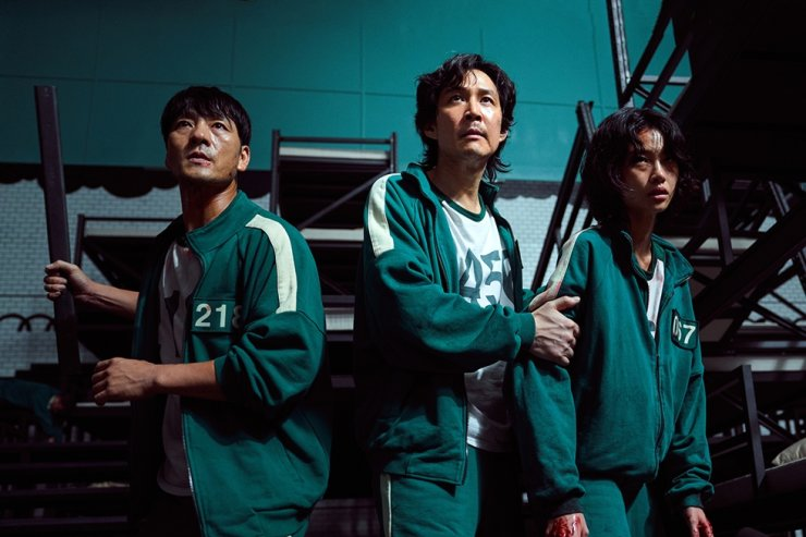 Netflix's Korean original series 'Squid Game' ranked second of the streaming site's worldwide top 10 lists, Tuesday, according to FlixPatrol. Courtesy of Netflix