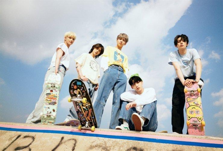 K-pop quintet Tomorrow X Together / Courtesy of Big Hit Music