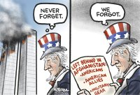 Never forget. We forgot