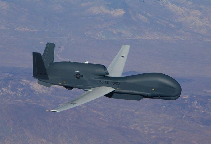 Global Hawk unmanned surveillance aircraft / Yonhap