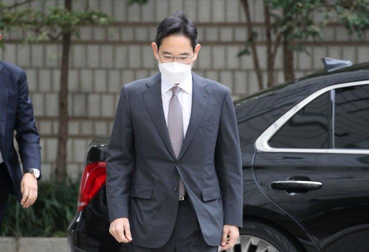 Samsung Group heir Lee Jae-yong / Yonhap