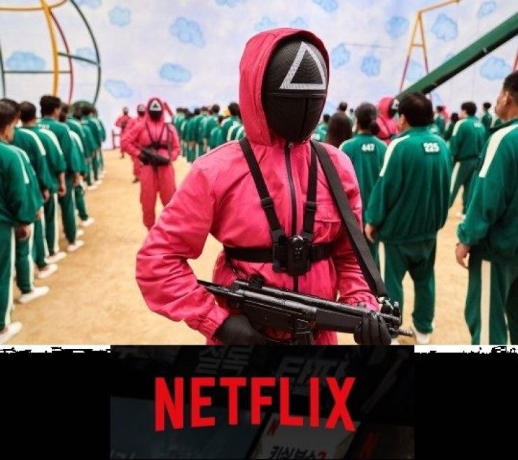 A still from Squid Game, a series on Netflix that was written, directed and produced in Korea Courtesy of Netflix