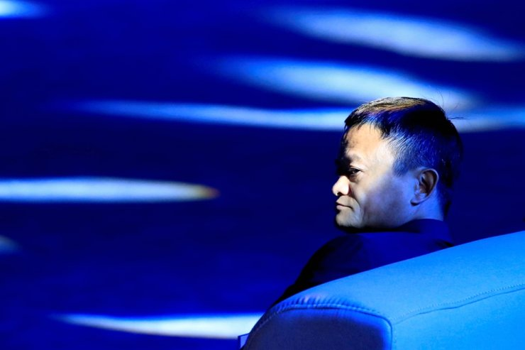In this Sept. 17, 2018, file photo, Alibaba Group co-founder Jack Ma attends the World Artificial Intelligence Conference in Shanghai. Reuters-Yonhap