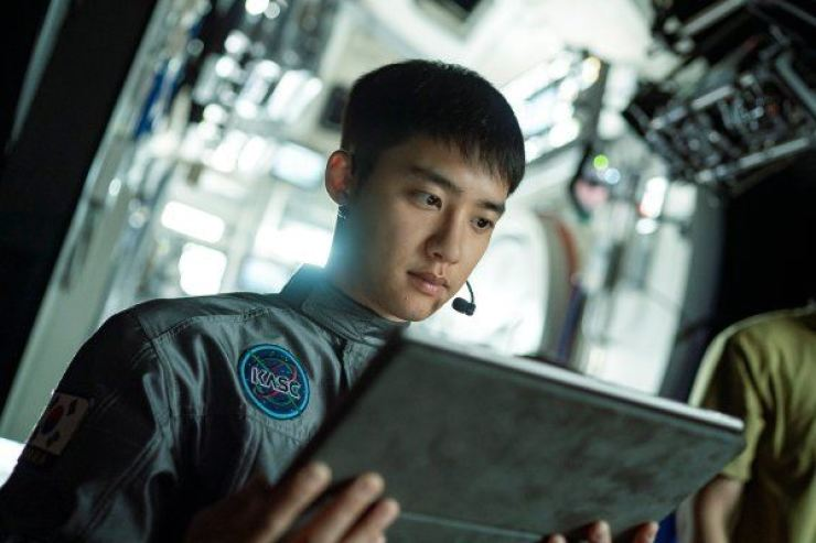 EXO's D.O. in the upcoming film, 'The Moon' / Courtesy of CJ ENM