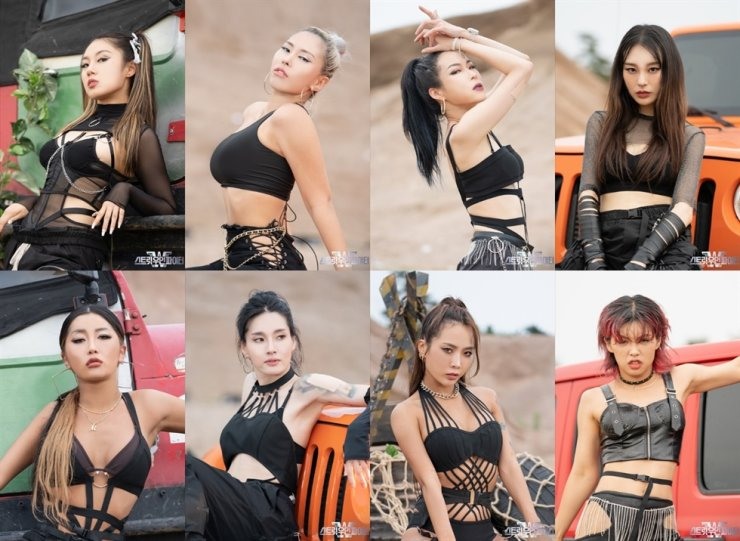 Dance crew leaders from Mnet's dance competition show, 'Street Woman Fighter' / Courtesy of Mnet