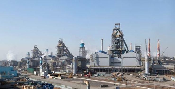 Hyundai Steel plant in Dangjin, South Chungcheong Province / Korea Times file