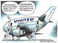 United airline COVID mandates