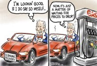 Gas prices and economic recovery