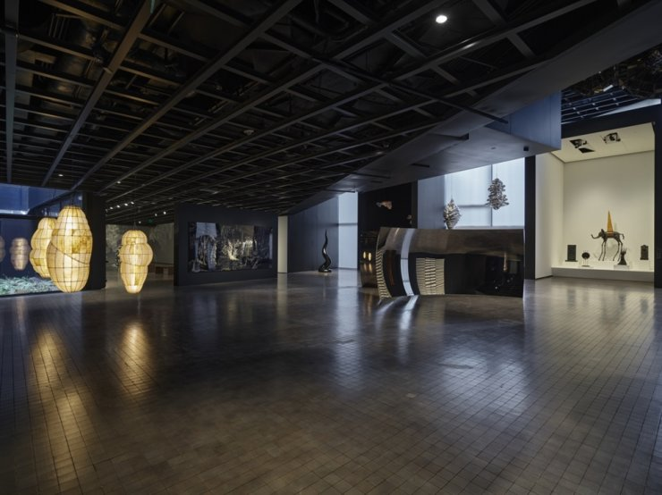 Installation view of the permanent showcase of the museum's contemporary art collection / Courtesy of Leeum