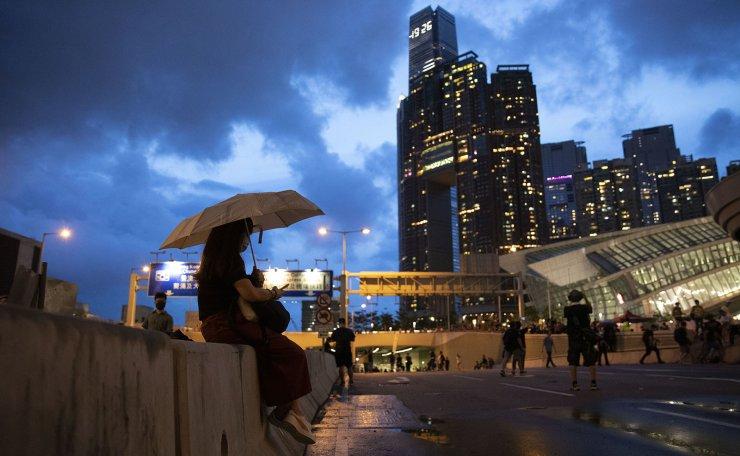 A general view of apartment blocks in Yau Ma Tei , Hong Kong, July 5. Korea Times photo by Choi Won-suk