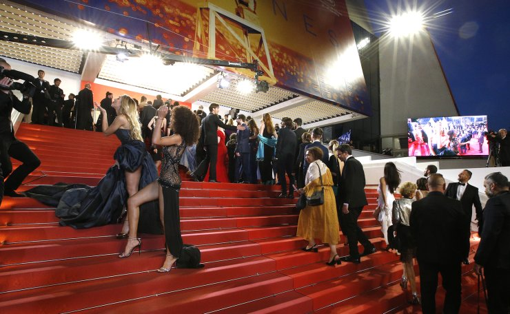 72nd Cannes Film Festival - Screening of the film 'Mektoub My Love: Intermezzo' in competition - Red Carpet Arrivals - Cannes, France, May 23, 2019. Reuters