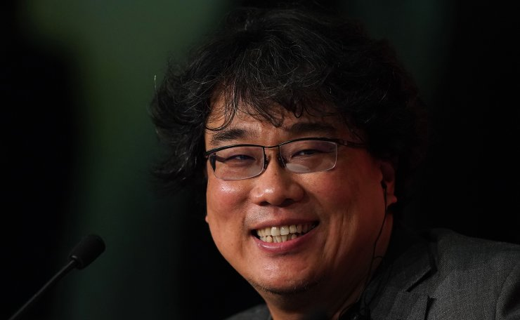 South Korean director Bong Joon-Ho attends a press conference for the film 'Parasite (Gisaengchung)' at the 72nd edition of the Cannes Film Festival in Cannes, southern France, on May 22, 2019. AFP