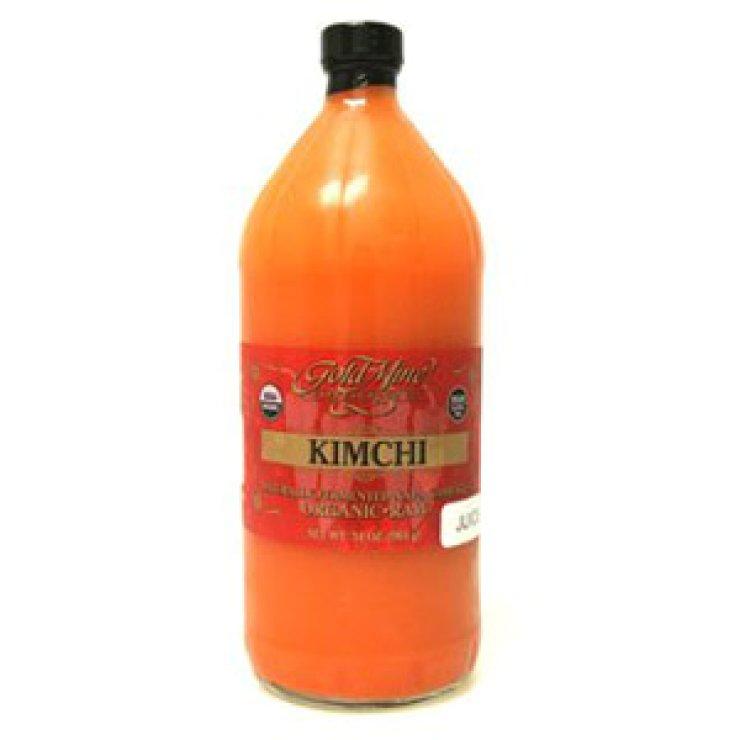Gold Mine Natural Food introduced 32-ounce kimchi juice on Amazon. / Courtesy of Amazon