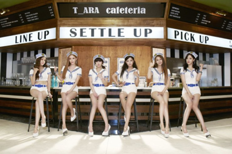 T-ARA / Courtesy of MBK Entertainment