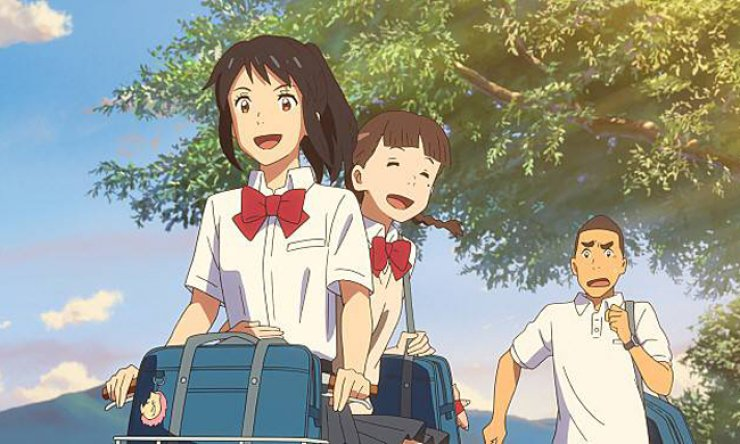 A scene from 'Your Name' / Courtesy of Megabox