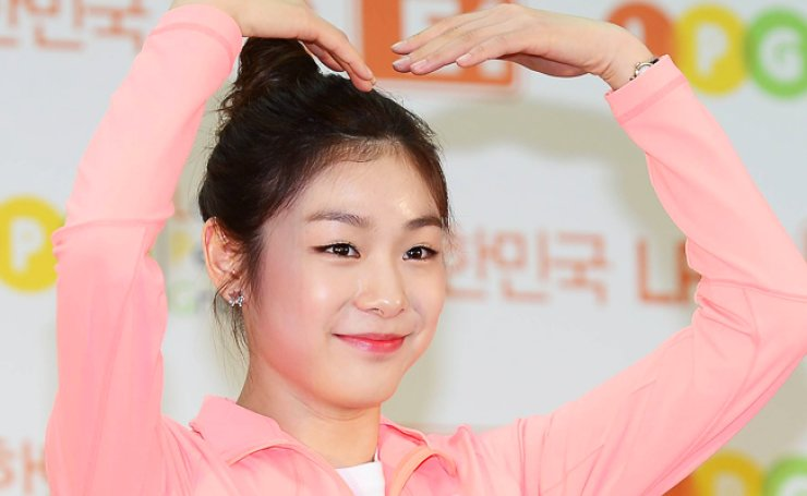 KBS TV reported Saturday that Kim Yu-na had been on Ministry of Culture, Sports, and Tourism blacklist for turning down a ministry invitation to attend a public trial of 'Neulpum calisthenics' in 2014. / Korea Times file