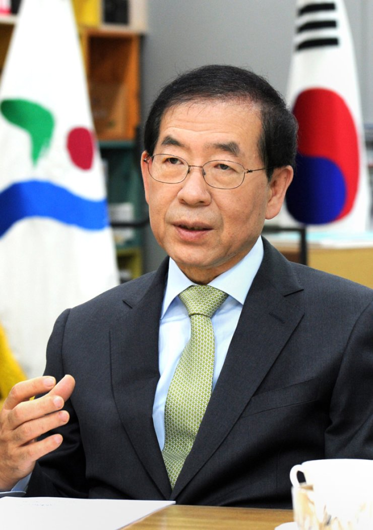 Seoul Mayor Park Won-soon / Courtesy of Seoul Metropolitan Government
