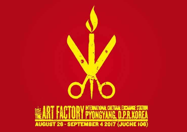 Poster of 'DMZ Academy: Modern Art Enters North Korea' / Courtesy of Morten Traavik